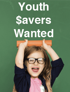 Youth Savers Wanted at OFCCU.